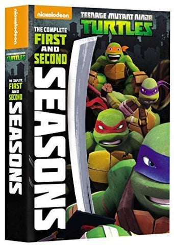 Teenage Mutant Ninja Turtles: The Complete First and Second Seasons (2012-2014) - (Boxed Set, Widescreen, Slipsleeve Packaging, AC-3, Dubbed) (DVD)