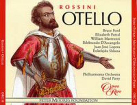 David Parry - Otello -  (CD)