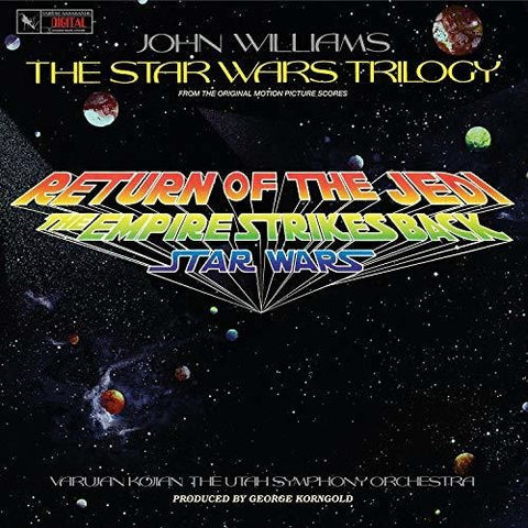 John Williams - The Star Wars Trilogy (The Utah Symphony Orchestra) (Re-Score) -  (Vinyl)