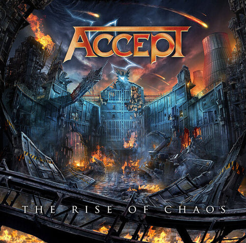 Accept - Rise Of Chaos [Import] - (United Kingdom - Import) (Vinyl)