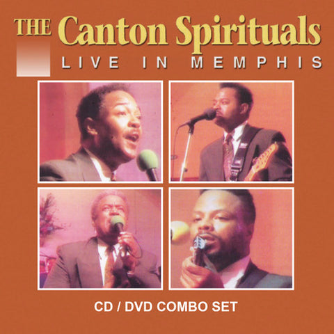 The Canton Spirituals - Live in Memphis - (With DVD) (CD)