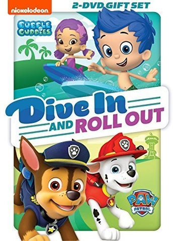 Paw Patrol /  Bubble Guppies: Dive in and Roll Out - (Full Frame, Widescreen, Dubbed, Subtitled, Sensormatic) (DVD)