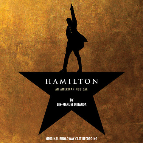 Original Broadway Cast of Hamilton - Hamilton (Original Broadway Cast Recording) - (Oversize Item Split) (Vinyl)