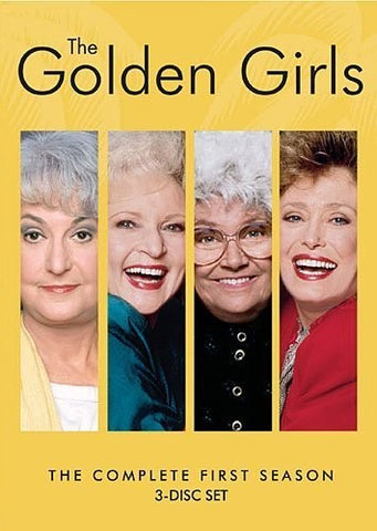 The Golden Girls: The Complete First Season - (Repackaged, 3 Pack) (DVD)
