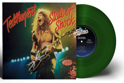 Ted Nugent - State of Shock - (Colored Vinyl, Green, Limited Edition, Remastered) (Vinyl)