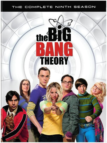 The Big Bang Theory: The Complete Ninth Season - (3 Pack, Dolby, AC-3, Subtitled, Slipsleeve Packaging) (DVD)