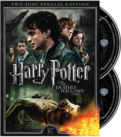 Harry Potter and the Deathly Hallows: Part 2 - (Special Edition, 2 Pack) (DVD)