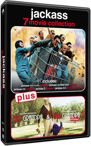 Jackass 7 Movie Collection - (Boxed Set, Widescreen) (DVD)