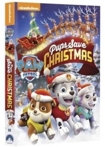 Paw Patrol: Pups Save Christmas - (Widescreen, Dolby, AC-3, Dubbed) (DVD)