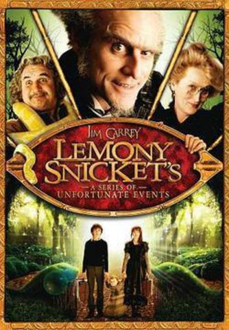 Lemony Snicket's A Series of Unfortunate Events -   (DVD)