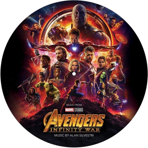 Alan Silvestri - Avengers: Infinity War (Original Motion Picture Soundtrack) - (Picture Disc Vinyl LP) (Vinyl)