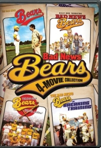 Bad News Bears 4-Movie Collection - (Gift Set, Boxed Set, Widescreen, Dolby, AC-3) (DVD)