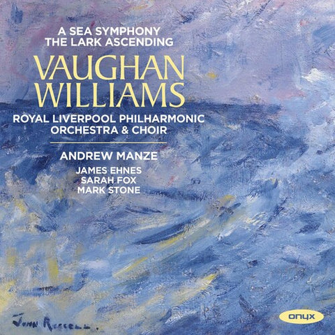 ROYAL LIVERPOOL PHILHARMONIC ORCHESTRA / MANZE - Vaughan Williams: A Sea Symphony - the Lark -  (CD)