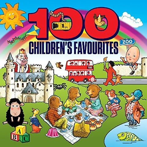 Various Artists - 100 Children's Favourites /  Various [Import] - (United Kingdom - Import) (CD)