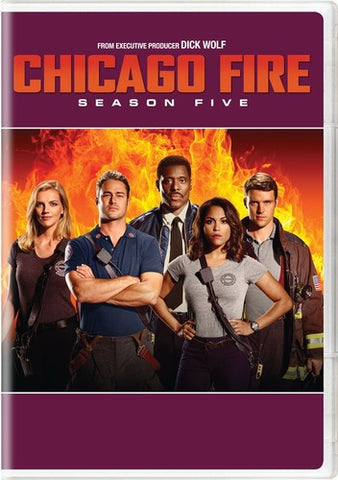 Chicago Fire: Season Five - (Boxed Set) (DVD)