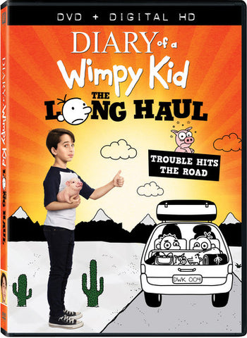 Diary of a Wimpy Kid: The Long Haul - (Digitally Mastered in HD, Widescreen, Dolby, AC-3, Subtitled) (DVD)