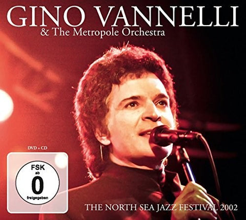 Gino Vannelli - North Sea Jazz Festival 2002 - (With DVD) (CD)