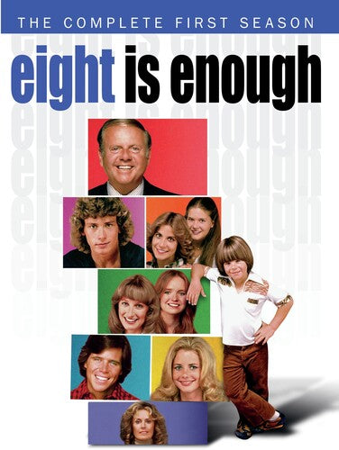 Eight Is Enough: The Complete First Season - (Manufactured on Demand, Full Frame, Amaray Case, 3 Pack, Subtitled) (DVD)