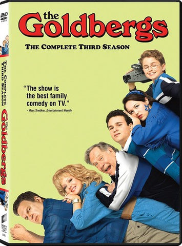 The Goldbergs: The Complete Third Season - (Widescreen, Dolby, AC-3, Subtitled, 3 Pack) (DVD)