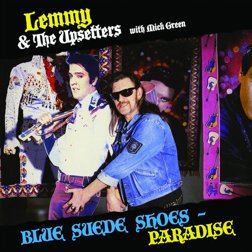 Lemmy & the Upsetters with Mick Green - Blue Suede Shoes /  Paradise - (Colored Vinyl, Blue, Limited Edition) (Vinyl)