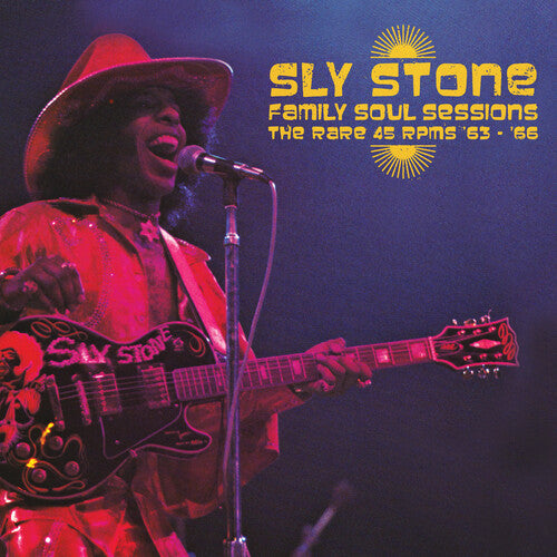 Sly Stone - Family Soul Sessions - The Rare 45 Rpms '63-'66 - (Colored Vinyl, Yellow, Limited Edition) (Vinyl)