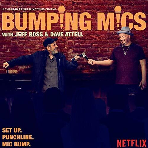 ROSS,JEFF / ATTELL,DAVE - Bumping Mics With Jeff Ross & Dave Attell -  (Vinyl)