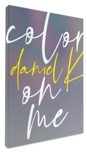 Daniel K - Color On Me (Incl. 76pg Photobook, Photocard, Clear Film, 3 Postcards,Sticker + Bookmark) [Import] - (Sticker, Photo Book, Photos, Postcard, Asia - Import) (CD)