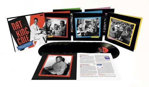 Nat King Cole - Hittin The Ramp: The Early Years 1936-1943 - (Boxed Set, Deluxe Edition, Oversize Item Split) (Vinyl)