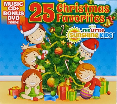 Sunshine Kids - 25 Christmas Favorties - (With DVD, 2 Pack) (CD)