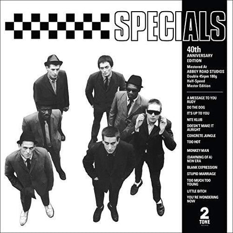 The Specials - Specials (40th Anniversary Half-speed Master) [Explicit Content] - (Anniversary Edition, Paexp) (Vinyl)