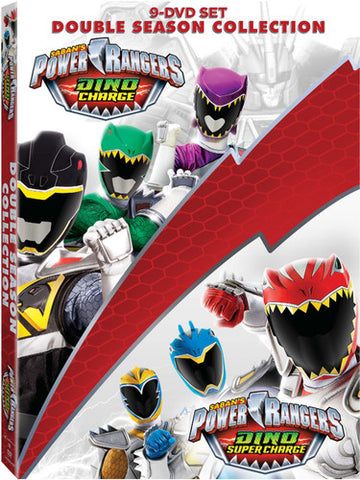 Power Rangers Dino Charge and Dino Super Charge Collection - (Boxed Set) (DVD)