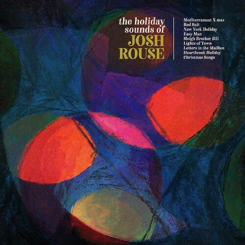 "Josh Rouse - The Holiday Sounds Of Josh Rouse - (Colored Vinyl, Red, With Bonus 12"") (Vinyl)"