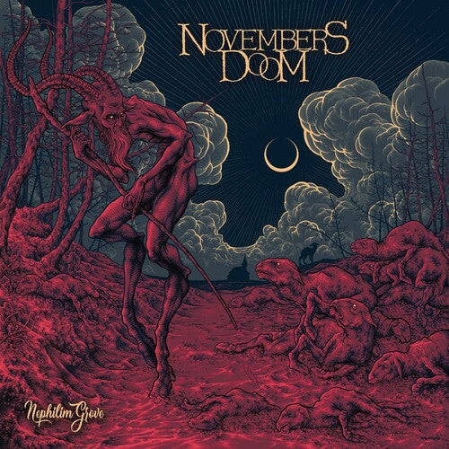 Novembers Doom - Nephilim Grove - (Boxed Set, Gatefold LP Jacket, Colored Vinyl, Silver, Limited Edition) (Vinyl)