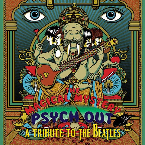 Magical Mystery Psych Out - Tribute to the Beatles - The Magical Mystery Psych Out - A Tribute To The Beatles /  Various -  (Vinyl)