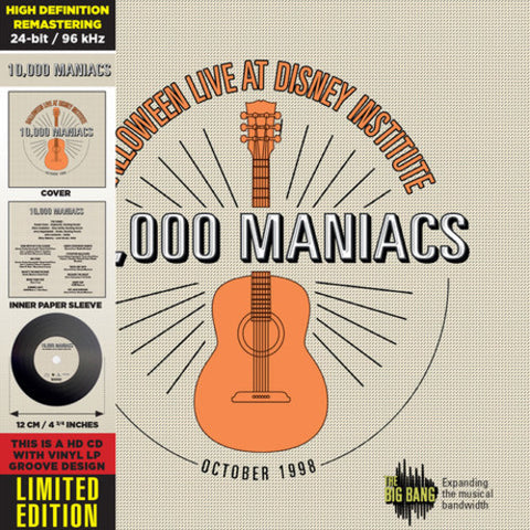 10,000 Maniacs - HALLOWEEN LIVE at DISNEY INSTITUTE - (Deluxe Edition, Collector's Edition) (CD)