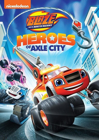 Blaze And The Monster Machines: Heroes Of Axle City - (Widescreen, Amaray Case, Dubbed) (DVD)