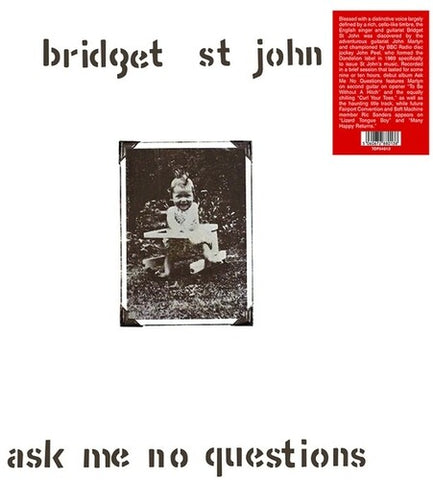 Bridget st John - Ask Me No Questions -  (Vinyl)