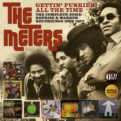 The Meters - Gettin Funkier All The Time: Complete Josie /  Reprise & WarnerRecordings 1968-1977 [Import] - (Boxed Set, United Kingdom - Import) (CD)