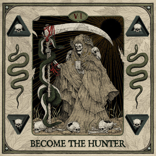 Suicide Silence - Become The Hunter - (White, Black, Limited Edition) (Vinyl)