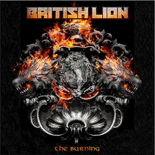 British Lion - The Burning - (Deluxe Edition, Limited Edition, Colored Vinyl, Gatefold LP Jacket) (Vinyl)