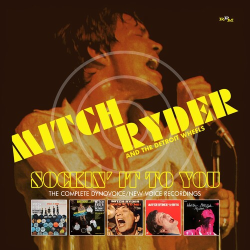 Mitch Ryder & the Detroit Wheels - Sockin It To You: Complete Dynovoice /  New Voice Recordings [Import] - (United Kingdom - Import) (CD)