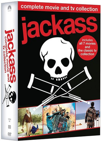 Jackass: Complete Movie and TV Collection (Includes Jackass 7-Movie Collection /  Jackass: The Classic TV Collection) - (Boxed Set, Full Frame, Widescreen, O-Card Packaging, Dolby) (DVD)
