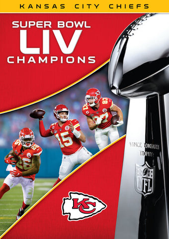 Super Bowl LIV Champions: Kansas City Chiefs -   (DVD)