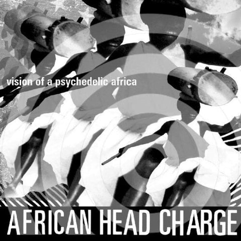 African Head Charge - Vision Of A Psychedelic Africa - (Poster, Digital Download Card) (Vinyl)