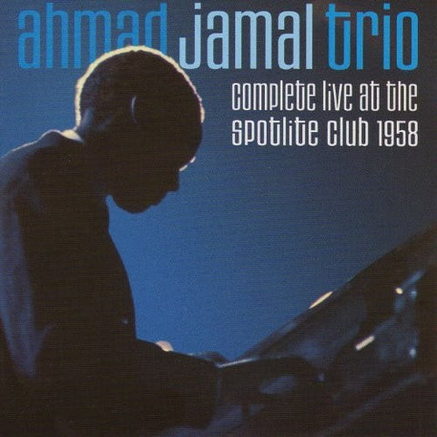 Ahmad Jamal - Complete Live At The Spotlite Club 1958 [Import] - (With Book, Remastered, Spain - Import) (CD)