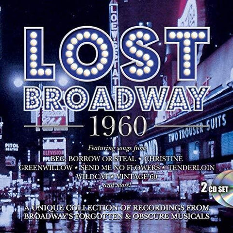 LOST BROADWAY 1960: BROADWAY'S FORGOTTEN & OBSCURE - Lost Broadway 1960: Broadway's Forgotten & Obscure Musicals /  Various [Import] - (United Kingdom - Import) (CD)