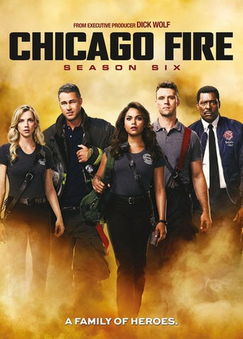 Chicago Fire: Season Six - (Boxed Set) (DVD)