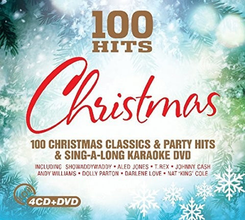 Various Artists - 100 Hits: Christmas /  Various [Import] - (Boxed Set, With DVD, United Kingdom - Import) (CD)