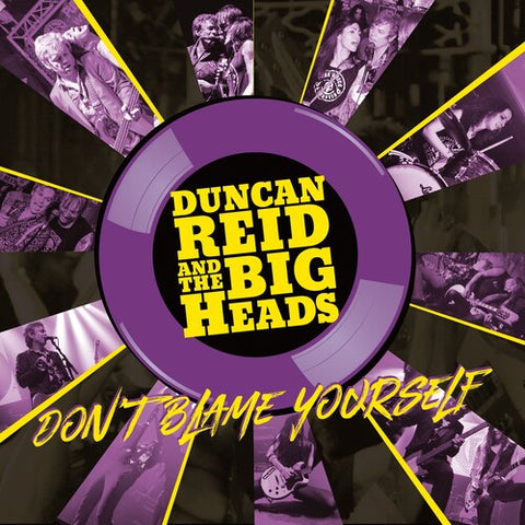 Duncan Reid & the Big Heads - Don't Blame Yourself (Ltd Edition Yellow/ Purple Vinyl) [Import] - (Limited Edition, Yellow, Purple, United Kingdom - Import) (Vinyl)