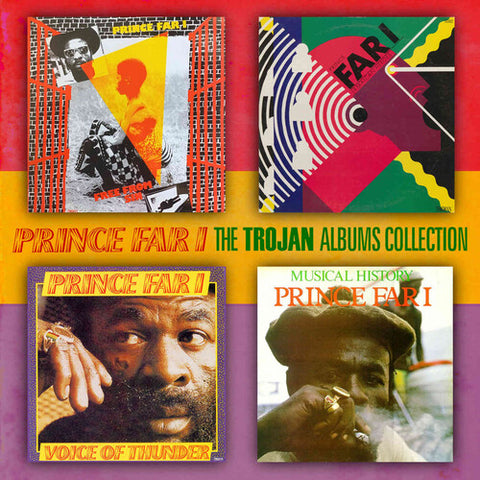 Prince Far I - Trojan Albums Collection: Four Original Albums Plus Bonus Track [Import] - (Bonus Track, United Kingdom - Import) (CD)